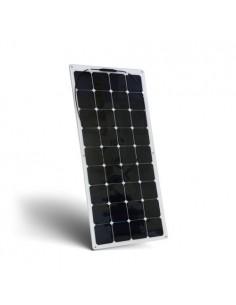 Pannello Solare Fotovoltaico 100W 12V Semiflessibile Monocristallino