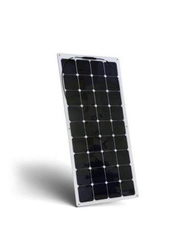Placa Solar Panel Fotovoltaico 100W 12V Flexible Autocaravana Barco Chalet