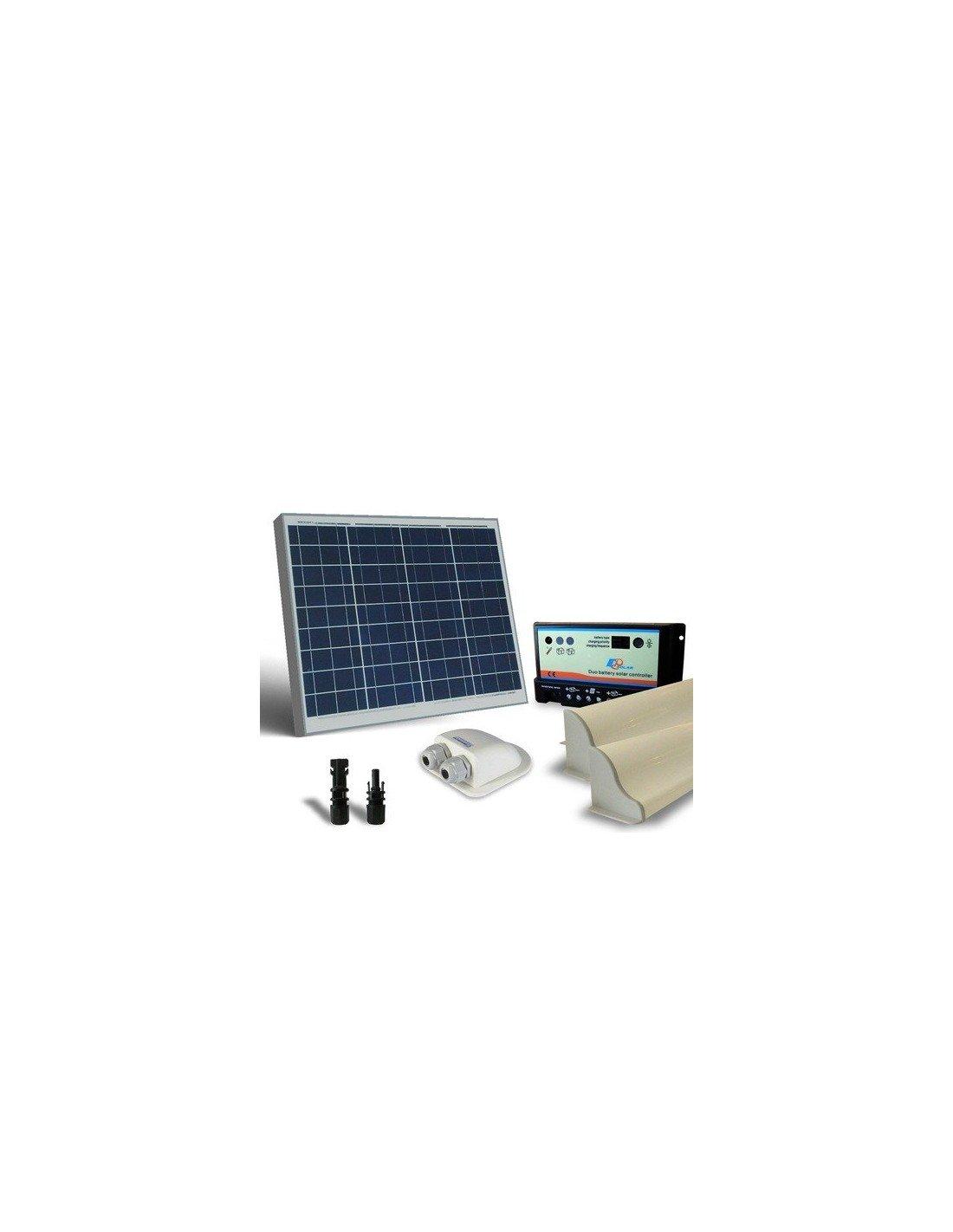 Kit Pannello Solare Offerta : Kit solare camper w v base pannello fotovoltaico