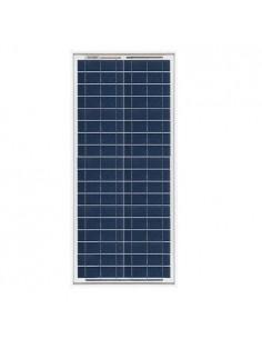 Placa Solar Fotovoltaico 30W 12V Policristalino Implant Camper Barco Baita