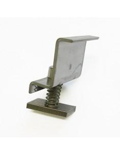 Morsetto Terminale 40mm in alluminio per profili TRF-G e TRF-H