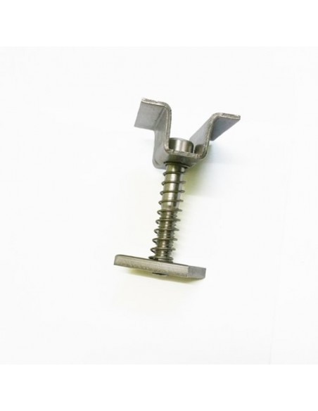 Morsetto Centrale 40-50mm in alluminio per profili TRF-G e TRF-H