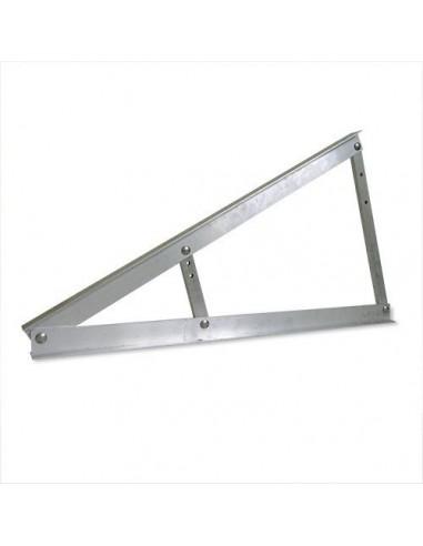 Triangolo in Alluminio per montaggio pannelli in Orizzontale a 20, 25 e 30 gradi