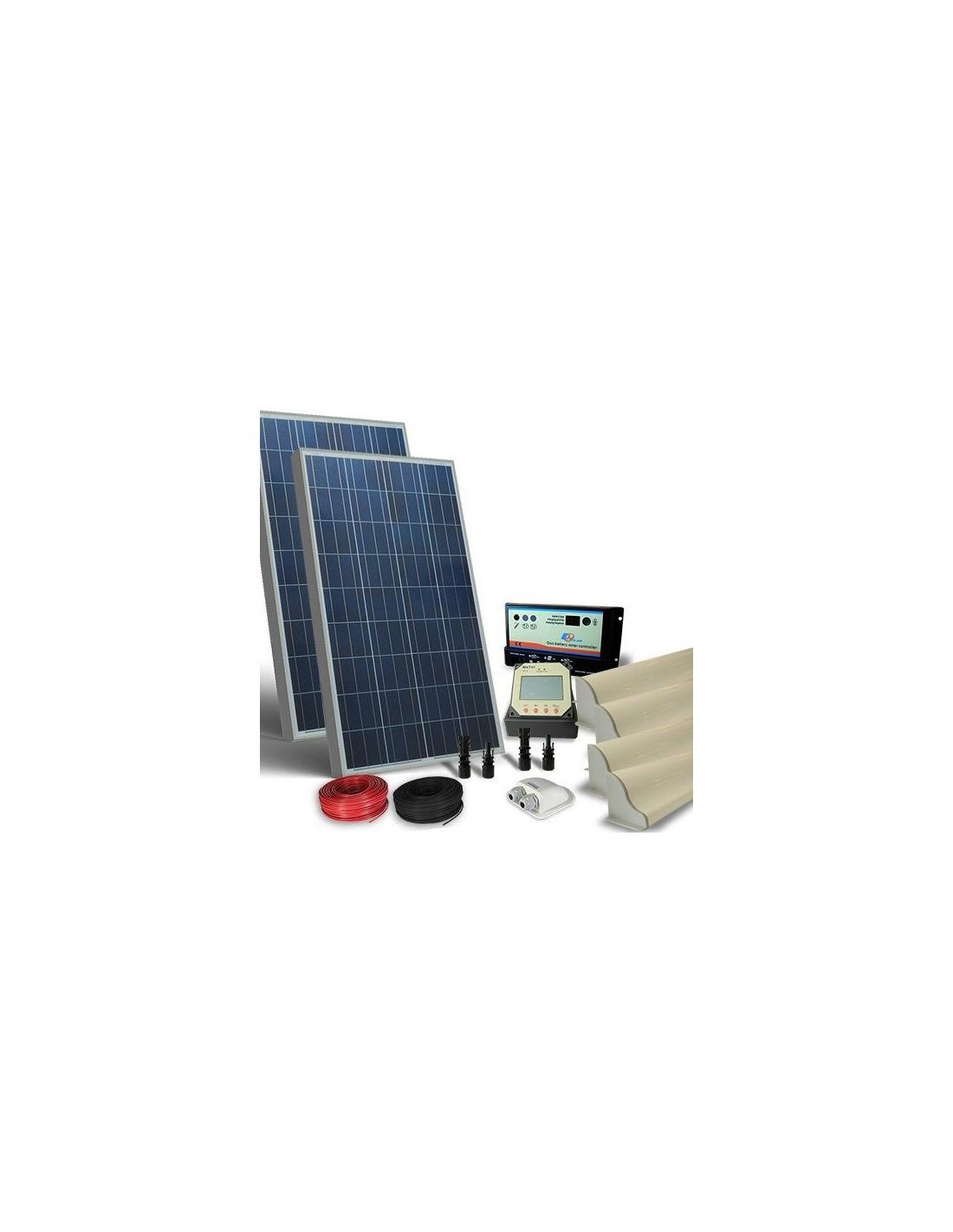 solar kit camper 160w 12v pro photovoltaic panel. Black Bedroom Furniture Sets. Home Design Ideas