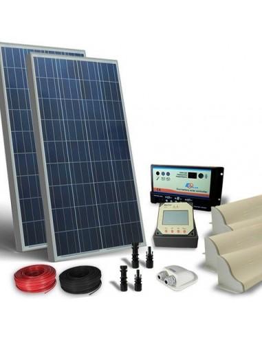 Kit Solare Camper 200W 12V Pro Pannello Fotovoltaico