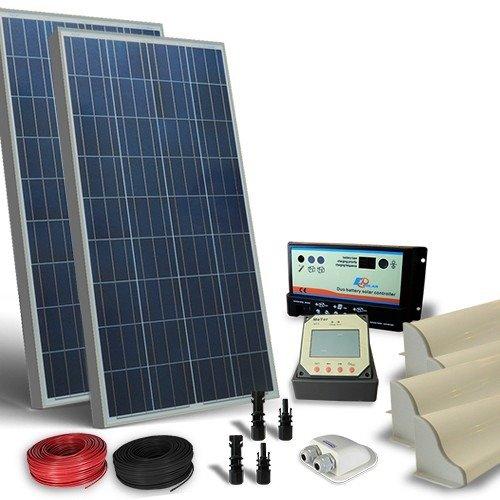 Kit Pannello Solare Camper 150w : Kit solare camper w v pro pannello fotovoltaico