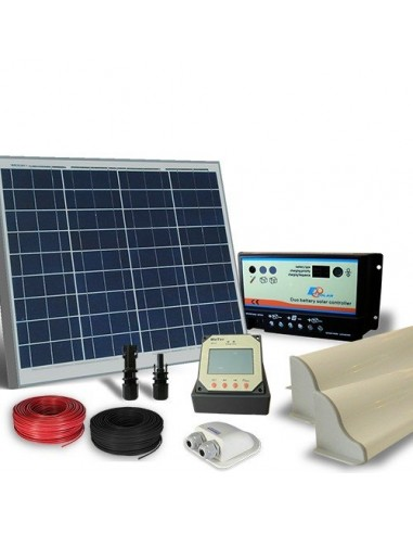 Solar Kit Camper 50W 12V Pro Photovoltaik Panel