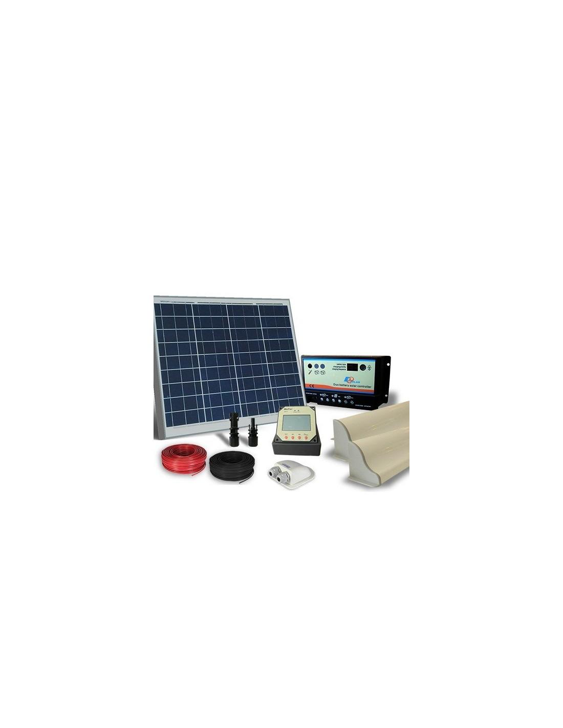 solar kit camper 50w 12v pro photovoltaic panel. Black Bedroom Furniture Sets. Home Design Ideas