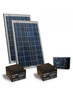Kit Solare Cancelli Elettrici 20W 24V Pannelli Solari Regolatore di Carica