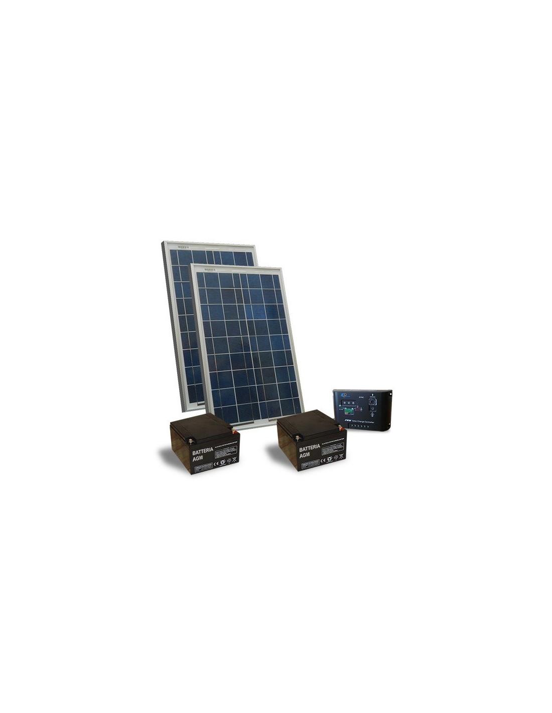 Kit Pannello Solare Con Regolatore Di Carica : Kit solare cancelli elettrici w v pannello regolatore