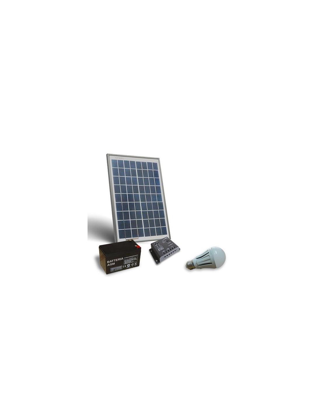 20w Solar Lighting Kit LED For Interior Solar Panel Controller Battery Lamps