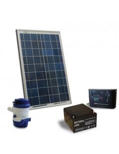 Sonnen Bewasserung Set 32 l/m 12V Solarpanel Laderegler Solar Pump Akku