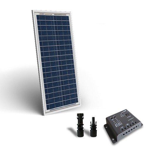 Regolatore Pannello Solare Artinya : Kit solare base w v pannello fotovoltaico regolatore