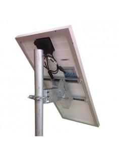 """Supporto testapalo """"Medium"""" fissaggio pannello solare fotovoltaico 30W"""