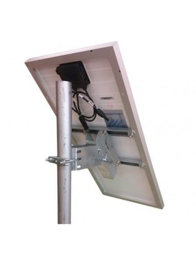 """Supporto testapalo """"Medium""""  fissaggio pannello solare fotovoltaico 20W - 30W"""