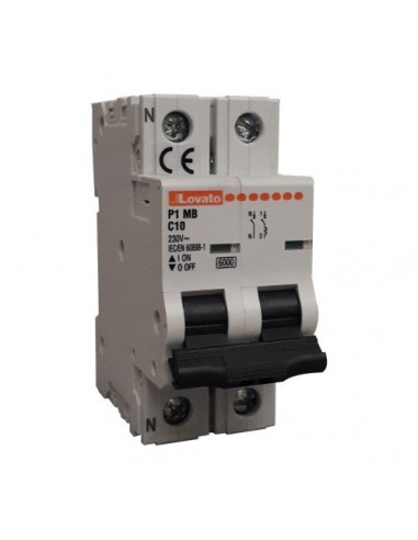 Interruttore Magnetotermico 1P+N 32A