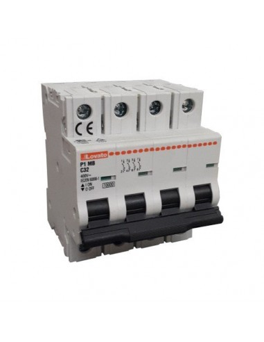 Interruttore Magnetotermico 4P C 32A