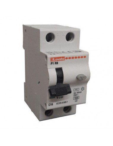 Interruttore Magnetotermico Differenziale 1P+N 20A