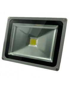 Leuchtturm LED-Projektor 30W 12V / 24V Weiß IP65 für Außenkalt Syrio Strom
