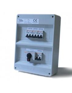 Quadro AC per Impianto Fotovoltaico OFF-GRID fino a 8Kw con doppio Inverter