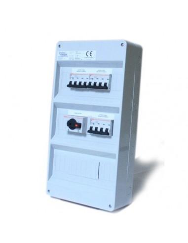 Quadro AC per Impianto Fotovoltaico OFF-GRID fino a 12Kw in Trifase