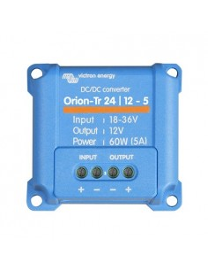 Convertisseur de tension DC-DC Orion-TR 24/12-5A 60W Victron Energy In. 18-35V