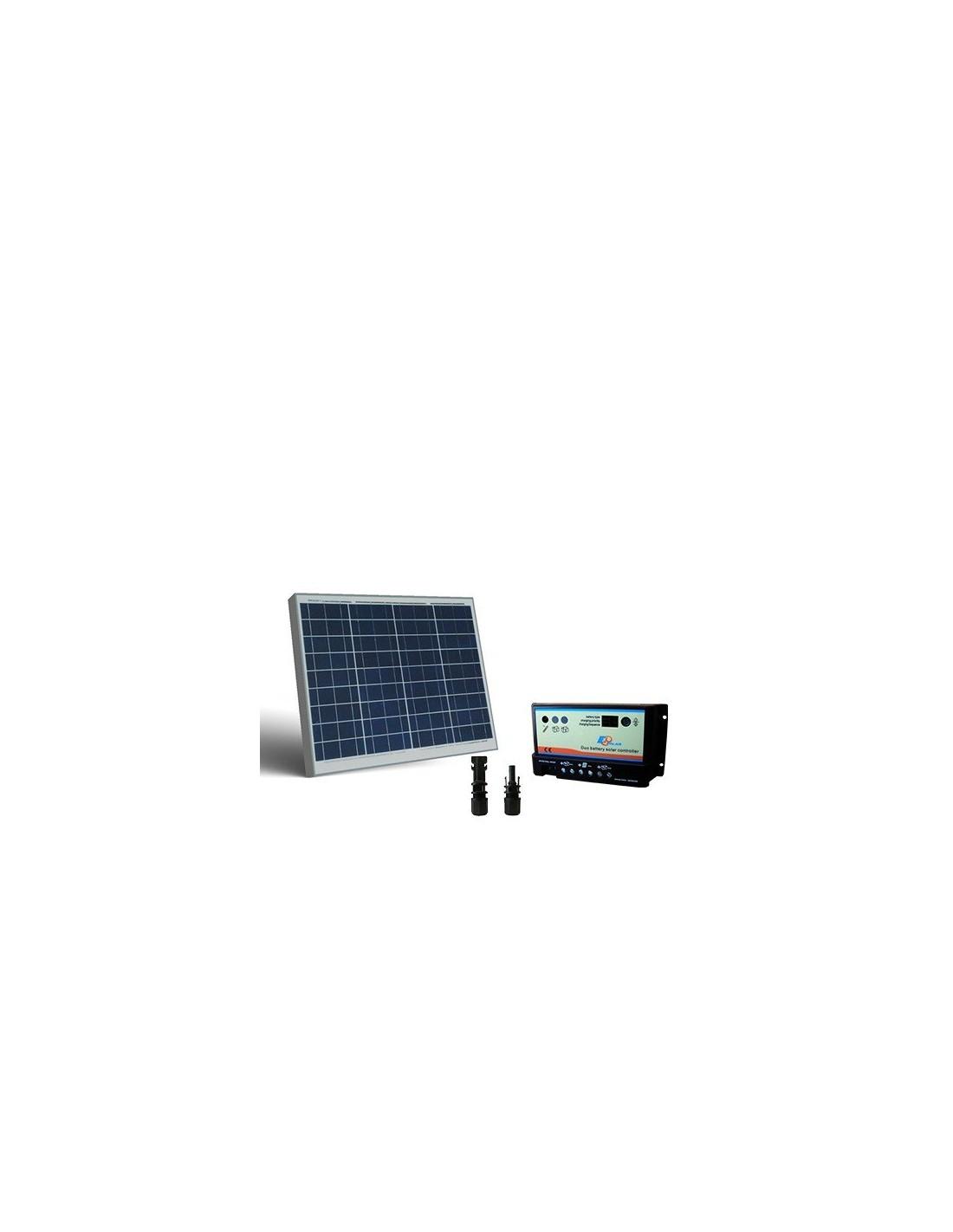 Kit Pannello Solare 50 Watt : Kit solare camper w v light pannello fotovoltaico