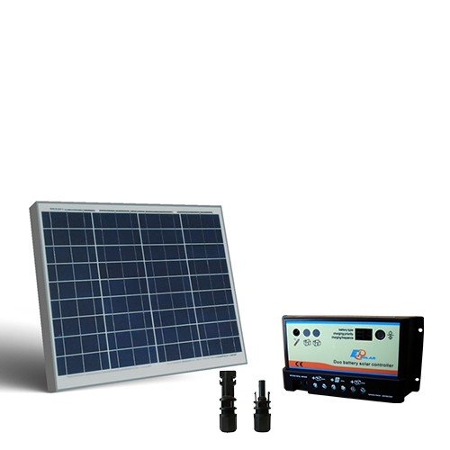 Regolatore Pannello Solare Per Camper : Kit solare camper w v pannello fotovoltaico regolatore
