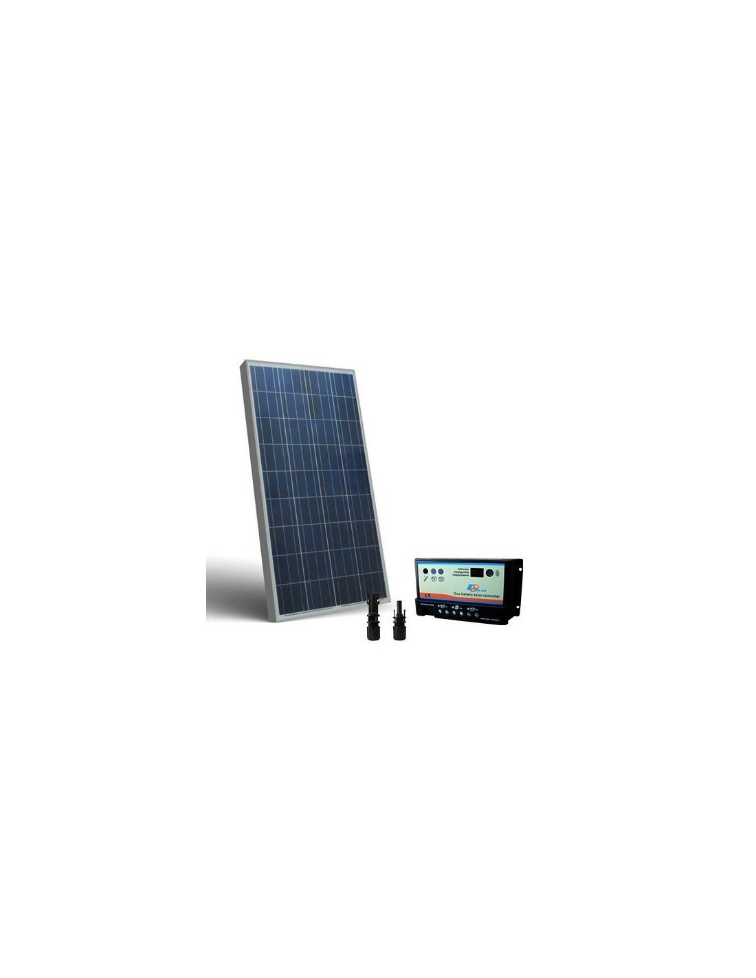 Kit Pannello Solare Roulotte : Kit solare camper w v pannello fotovoltaico