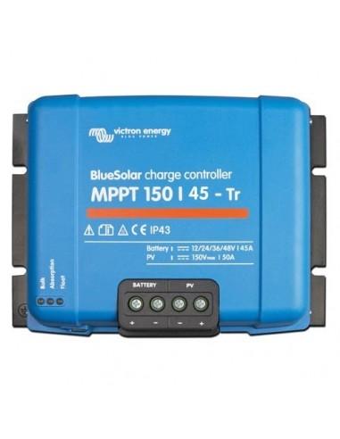 Regolatore di Carica MPPT BlueSolar 150/45-TR 150Voc 45A Victron Energy