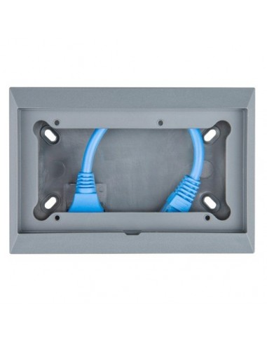 Wall mount enclosure for 65x120MM GX-panels