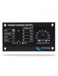 Control panel and monitoring for Phoenix Charger Victron Energy