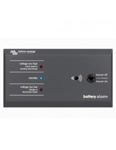 Panel Control GX Batteriealarm Victron Energie für Batterien