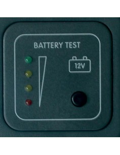 Panel Test Battery 12V LED - Gray Accessories CAMPER CBE