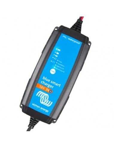 Caricabatteria 7A 12V Blue Smart IP65 Victron Energy 12/7 + Connettore DC