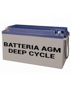Batteria AGM Deep Cycle 220Ah 12V Fotovoltaico Accumulatore Camper Baita Nautica