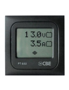 Touch Digital Test Panel PT652 CBE Control Voltage and Battery Consumption