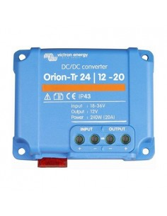 Convertisseur de tension DC-DC Orion-TR 24/12-20A 240W Victron Energy In. 18-35V