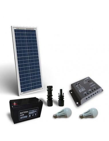 Kit Solare Illuminazione LED 30W