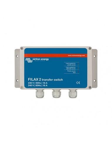 Commutatore Filax 2 Ultra Veloce Trasferimento AC 16A 230V 50Hz Victron Energy