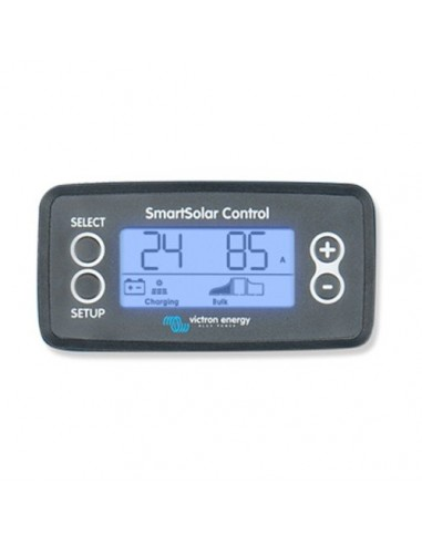 Display di Controllo per Regolatori di Carica SmarSolar Victron Energy Fotovoltaico