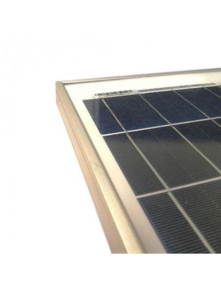 10W 12V Photovoltaic Solar Panel Caravan Motorhome Boat Lighting Off-Grid