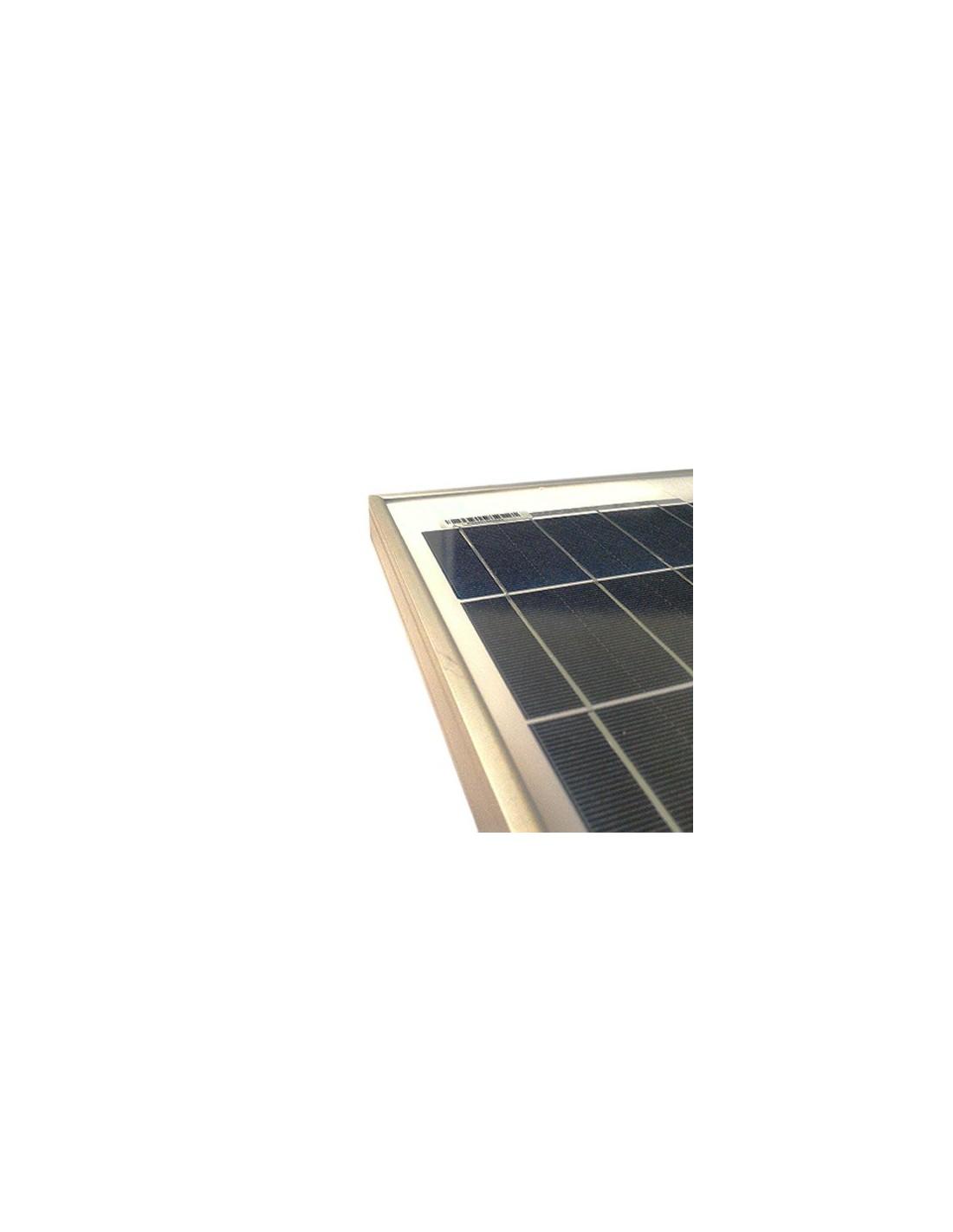 panneau solaire photovoltaique 10w 12v polycristallin roulottes bateaux chalet. Black Bedroom Furniture Sets. Home Design Ideas