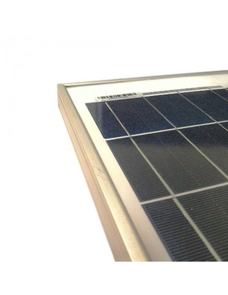 Placa Solar Fotovoltaico 200W 12V Policristalino Implant Camper Barco Baita