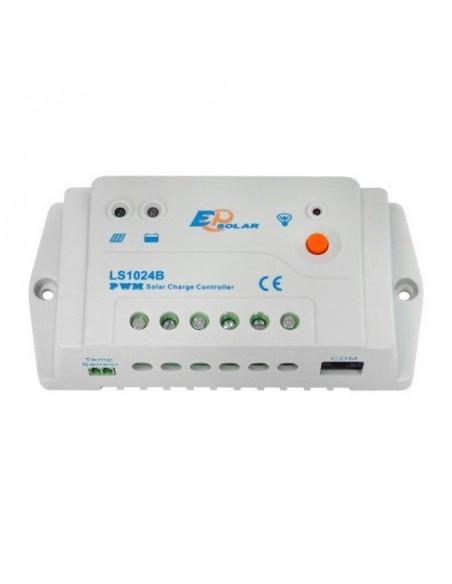 Regulateur de Charge Solaire PWM 10A 12/24V EP Solar New LandStar