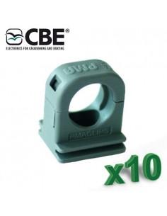 Gaine fixe 12mm CBE KTR-F Confection 10 pieces câblage Camper Photovoltaique