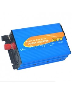 Inversor 600W 12V onda modificada 1200W AC 230 Camper fotovoltaica coche