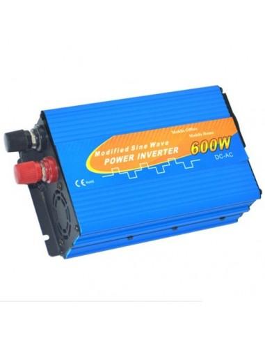 Convertisseur onde modifié 600W 12Vdc sortie 230Vac solaire maison campeur auto