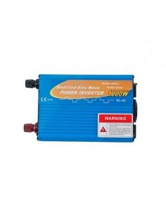Convertisseur 1000W 12V onde modifiée 2000W AC 230V campeur photovoltaïque