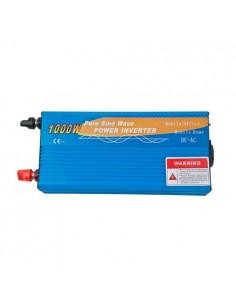 Convertisseur 1000W 12V onde pure 2000W AC 230V campeur photovoltaïque